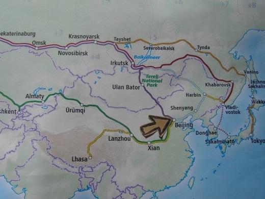 Na een kleine twee weken komen we aan in Beijing!