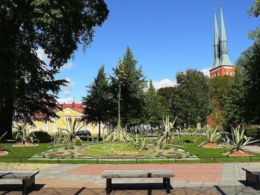 De kathedraal van Växjö (Foto: Pedro Ferreira