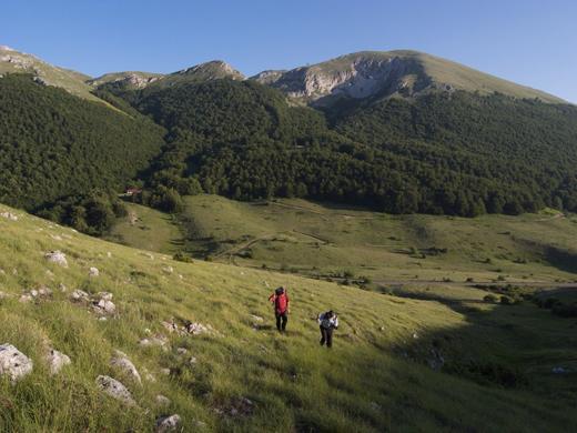 Het nationale park Galičica