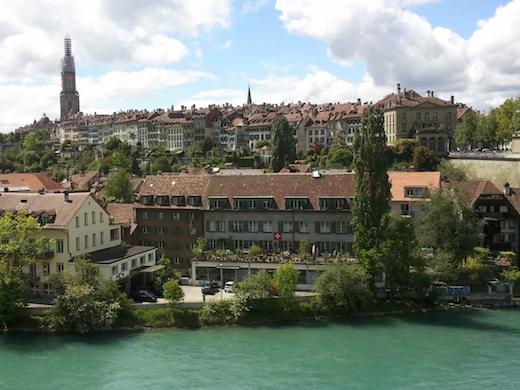 De oude binnenstad van Bern staat op de Werelderfgoedlijst.
