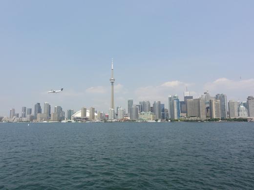 De grootste stad van Canada: het moderne Toronto.