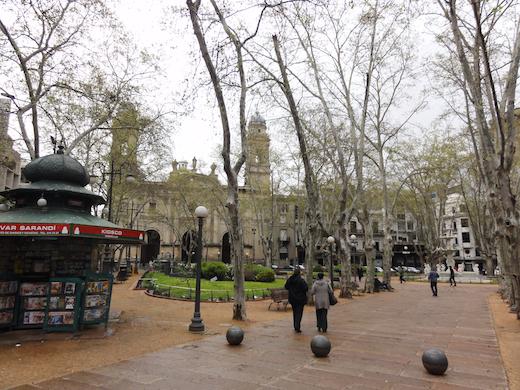 plaza matriz montevideo