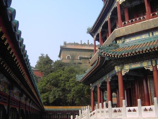 Het zomerpaleis in Beijing.