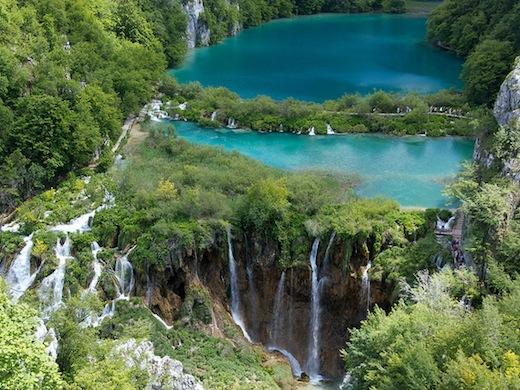 De watervallen van de benedenmeren (Foto: Aaron May