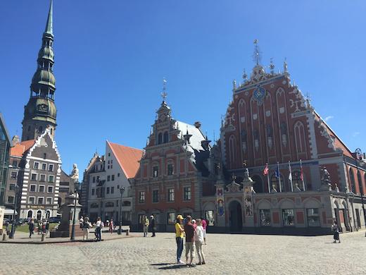 Hoofdstad Riga